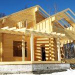 Строительство дачных домов из клееного бруса