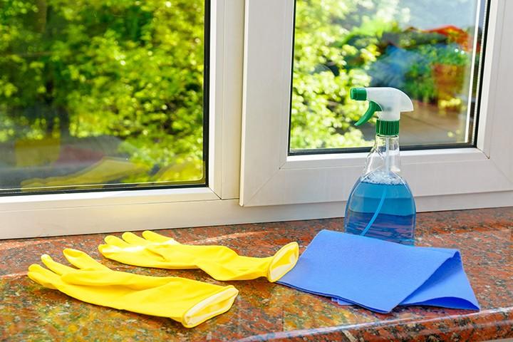 пластиковые окна как чистить