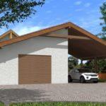 Строительство бани и гаража на приусадебном участке