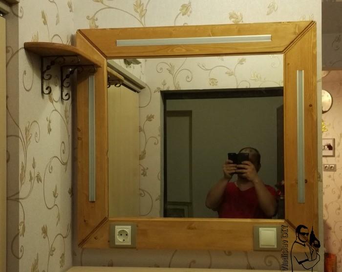 Зеркало в прихожую своими руками