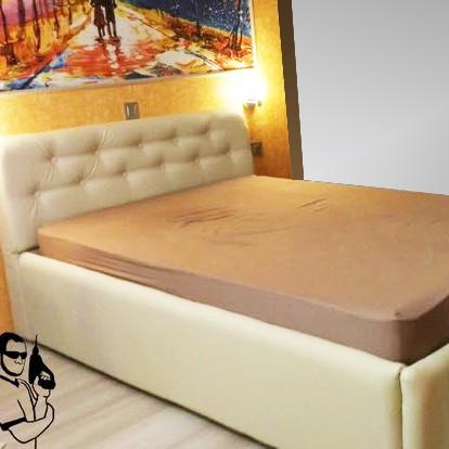 кровать с мягким изголовьем своими руками