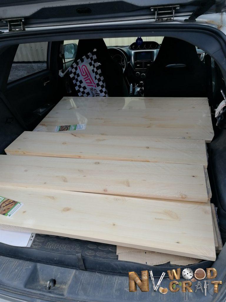 Перевозка мебельных щитов для большой комод из дерева