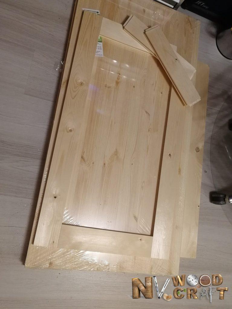 Рамка боковины в большой комод из дерева