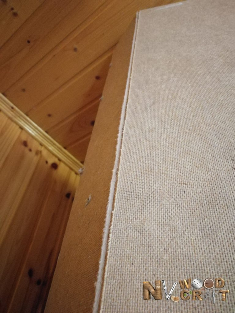 фрезеровка задней стенки