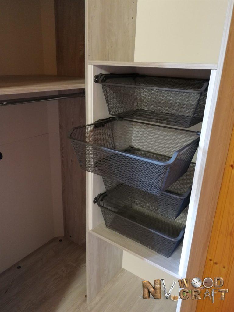 угловой шкаф в спальню внутреннее наполнение ИКЕА