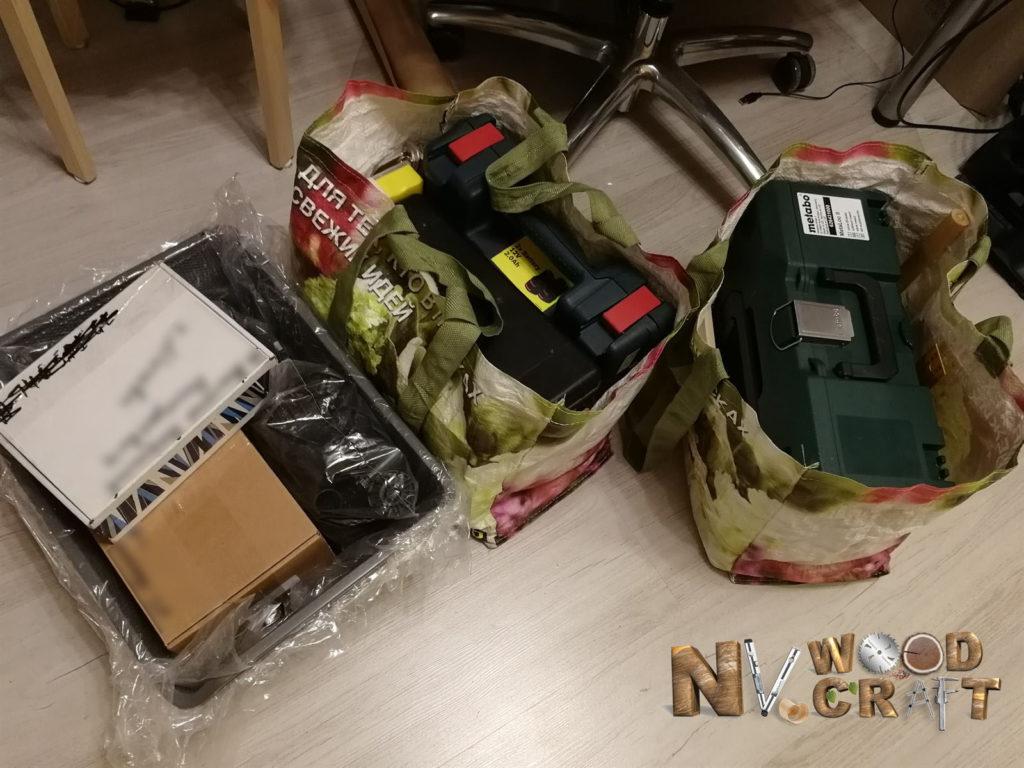 Инструменты для сборки шкафа