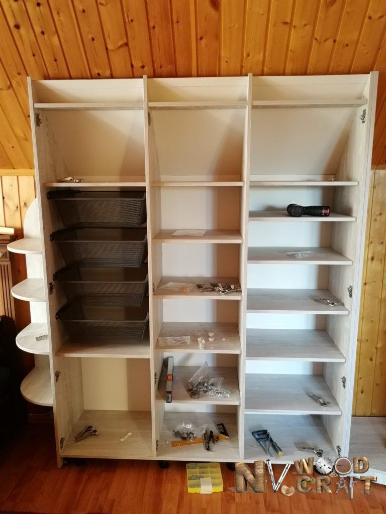 как сделать шкаф своими руками дешево
