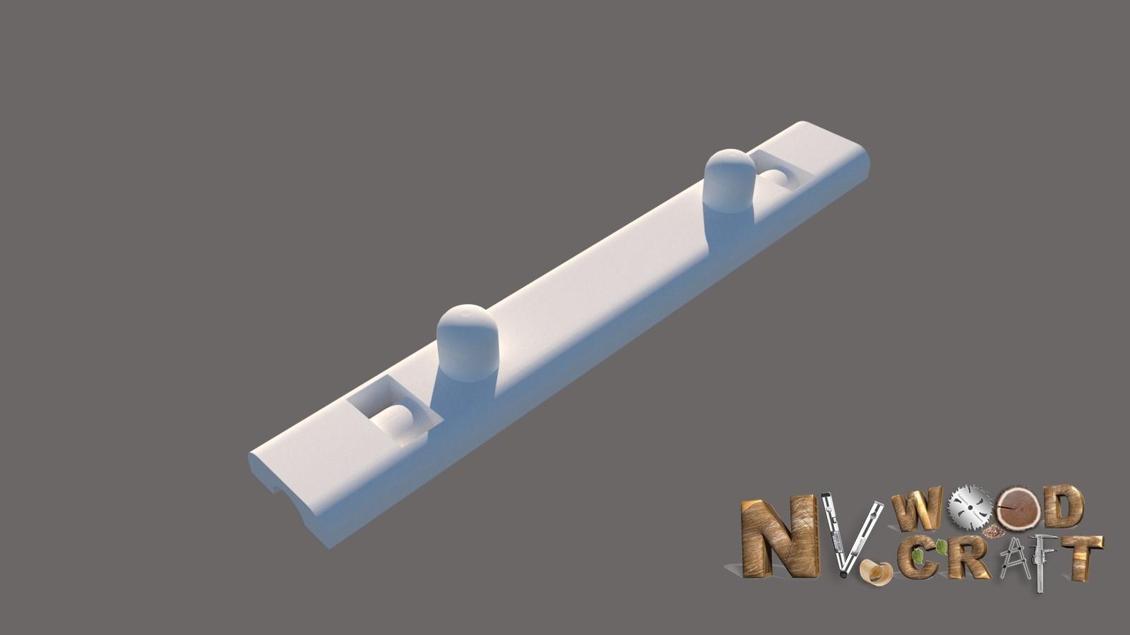3d Модель приспособления для шлифмашинки