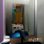 Как устранить запотевание зеркала в ванной