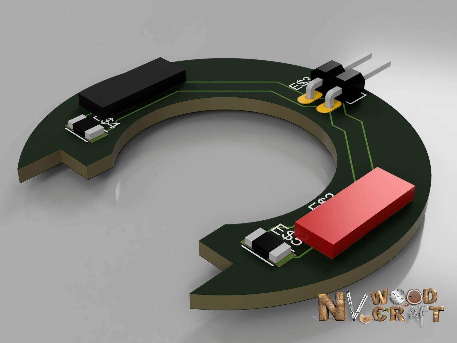 Макет подсветки для фрезера Makita RT0700CX2