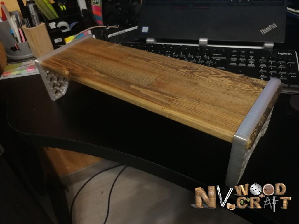 Подставка под монитор из массива